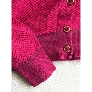 Sweaters - Tommy Hilfiger herringbone full button cardigan